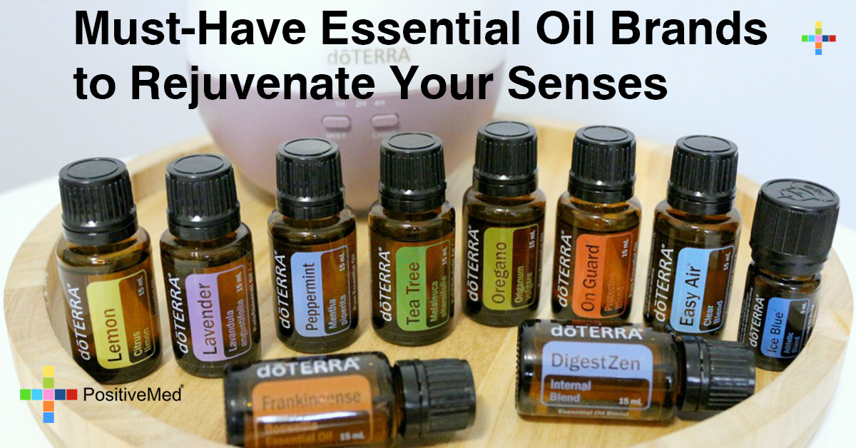 Must-Have Essential Oil Brands to Rejuvenate Your Senses