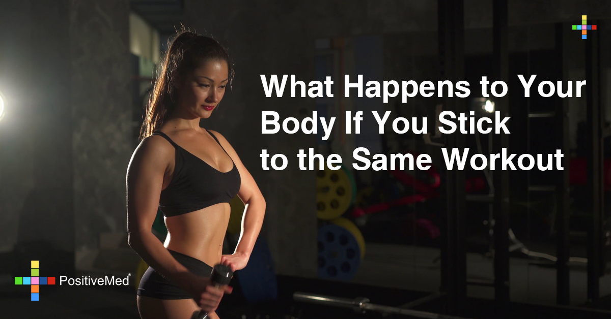 What Happens to Your Body If You Stick to the Same Workout