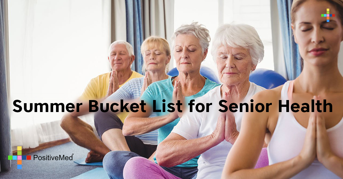 Summer Bucket List for Senior Health