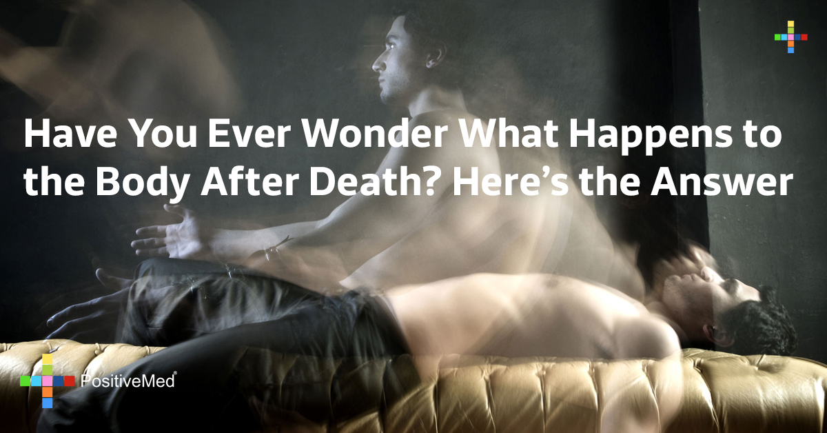 Have You Ever Wonder What Happens to the Body After Death? Here's the Answer
