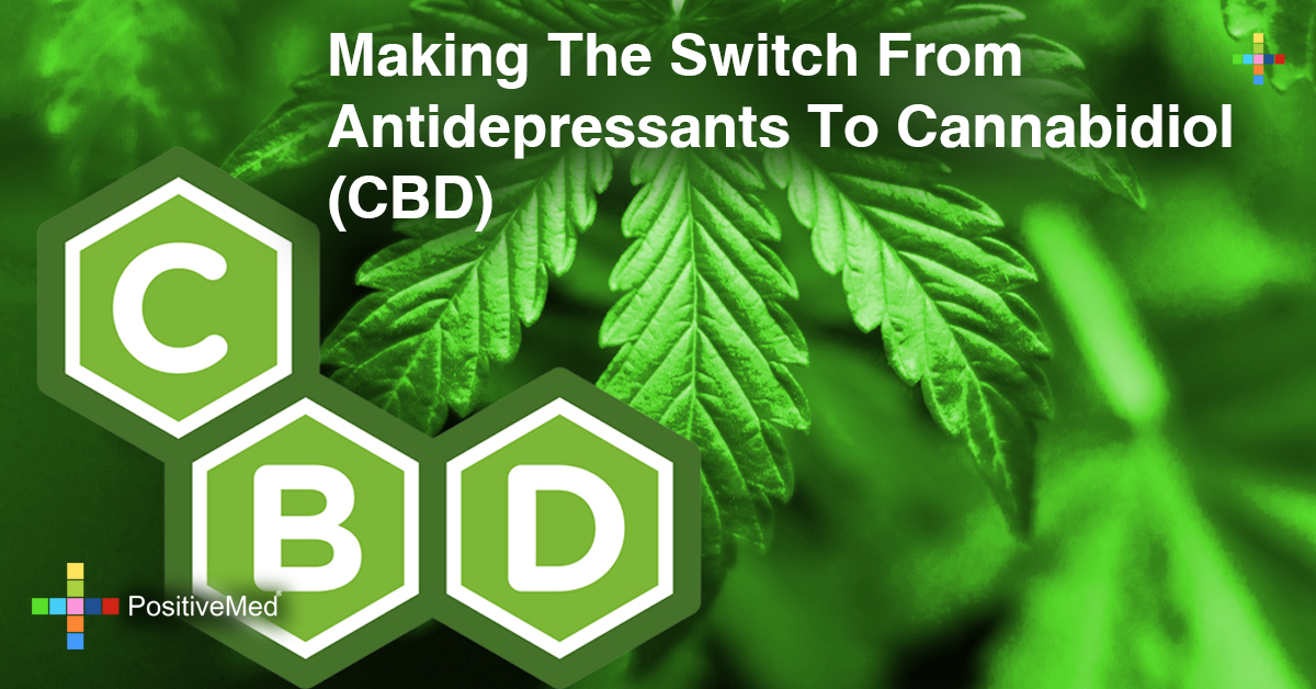 Making the Switch from Antidepressants to Cannabidiol (CBD)