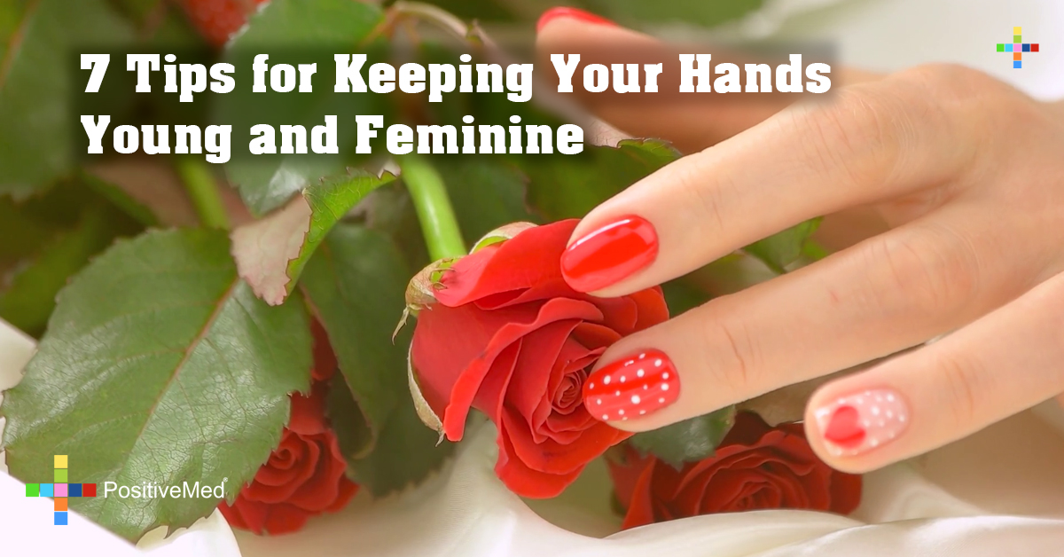 7 Tips for Keeping Your Hands Young and Feminine