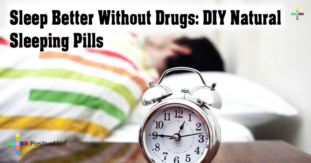 Sleep Better Without Drugs: DIY Natural Sleeping Pills