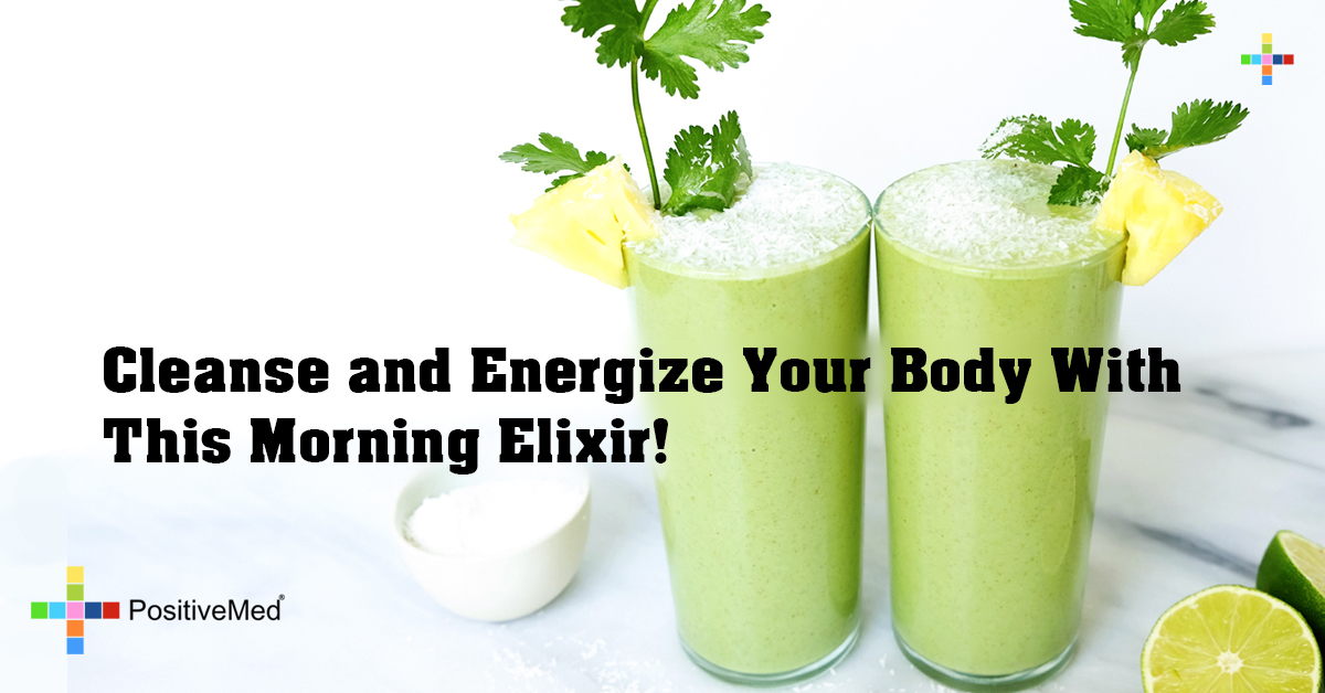 Cleanse and Energize Your Body With This Morning Elixir