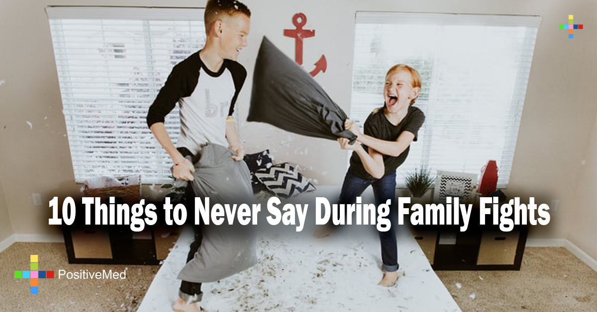 10 Things to Never Say During Family Fights