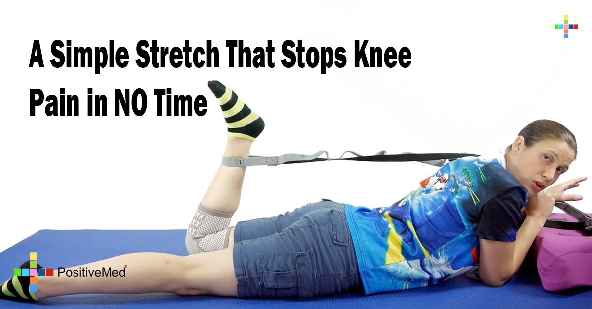 A Simple Stretch That Stops Knee Pain in NO Time