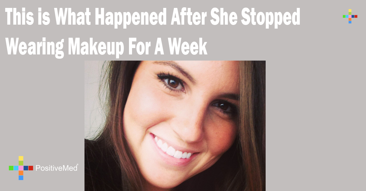 This is What Happened After She Stopped Wearing Makeup For A Week