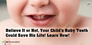 Believe It or Not, Your Child's Baby Teeth Could Save His Life! Learn How!