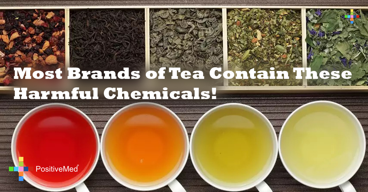 Most Brands of Tea Contain These Harmful Chemicals