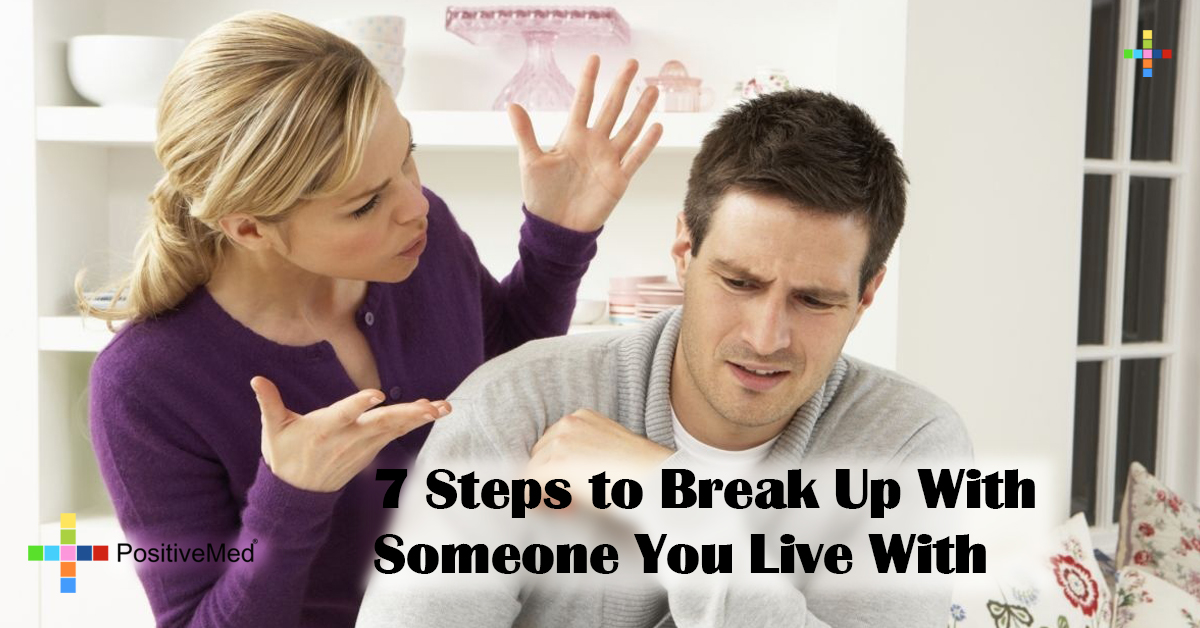 7 Steps to Break Up With Someone You Live With