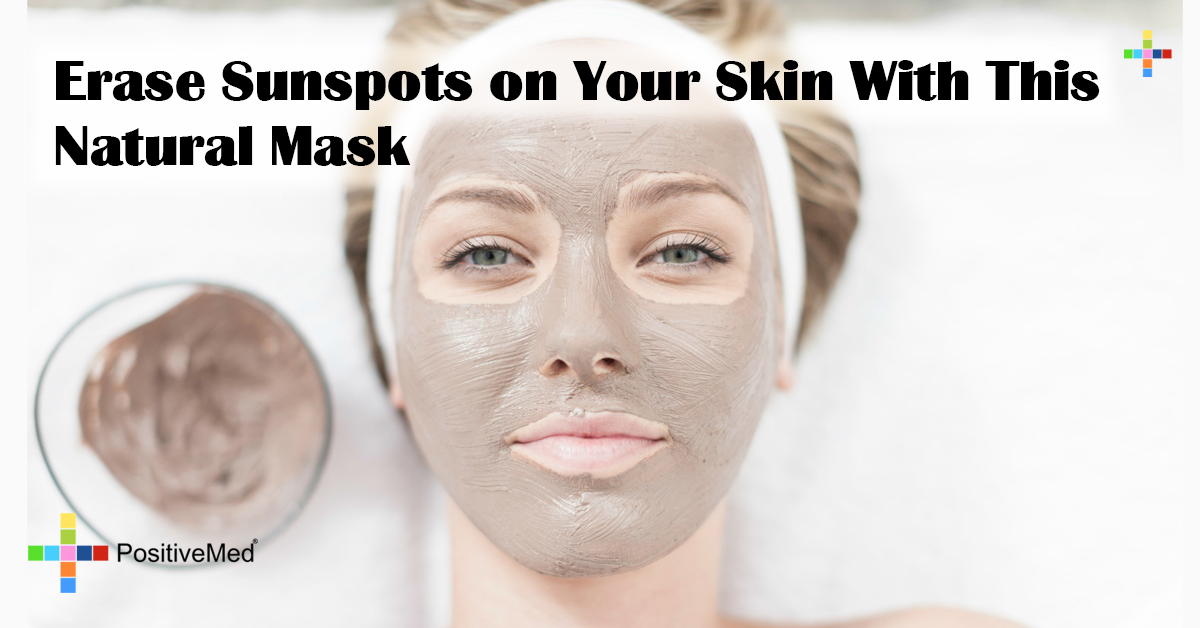 Erase Sunspots on Your Skin With This Natural Mask