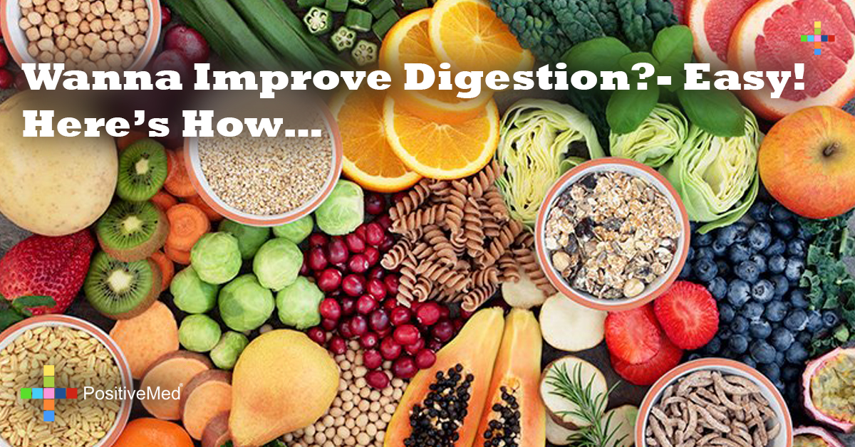 Wanna Improve Digestion- Easy! Here's How