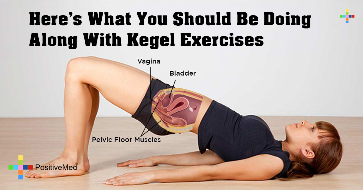 Here's What You Should Be Doing Along With Kegel Exercises