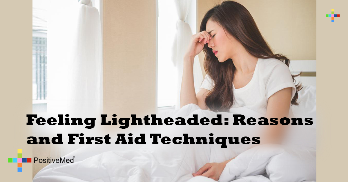 Feeling Lightheaded Reasons and First Aid Techniques