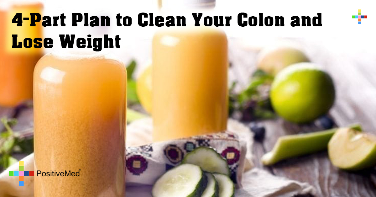 4-Part Plan to Clean Your Colon and Lose Weight