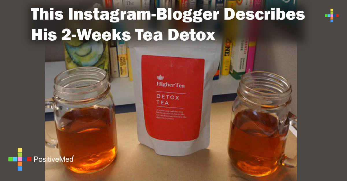 This Instagram-Blogger Describes His 2-Weeks Tea Detox