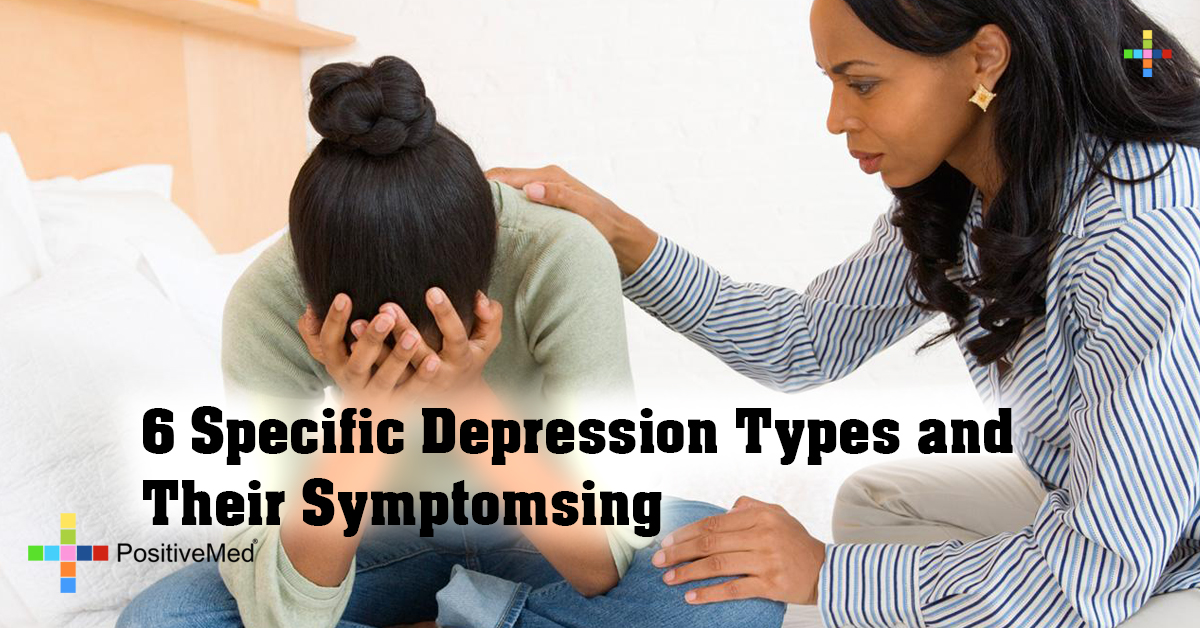 6 Specific Depression Types and Their Symptoms
